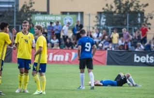Tipphetked: U17 koondis jäi rootslastele teises kohtumises napilt alla