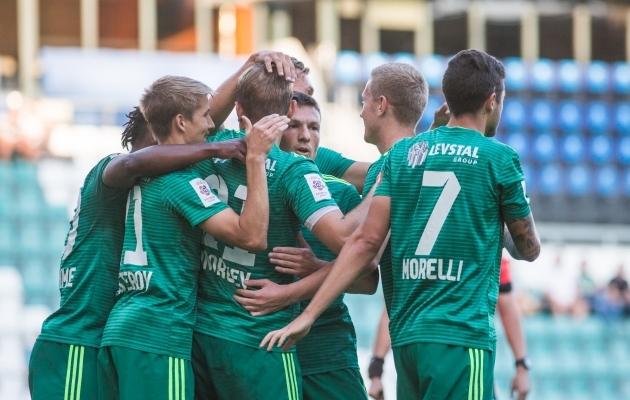 FCI Levadia avas uue kodulehekülje. Foto: Jana Pipar / jalgpall.ee