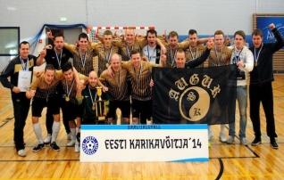 10 aastat saalijalgpalli kõrgseltskonnas olnud Augur tänavustel meistrivõistlustel kaasa ei tee