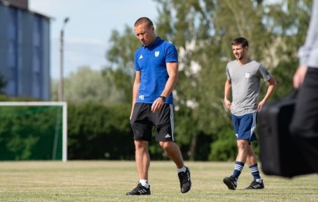 Maardu peatreener on jätkuvalt Andrei Borissov. Foto: Liisi Troska