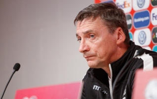 Valgevene koondise teed läksid peatreeneriga lahku