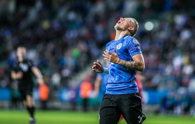 Eesti-Valgevene mäng tõi meile ahastust. Foto: Brit Maria Tael