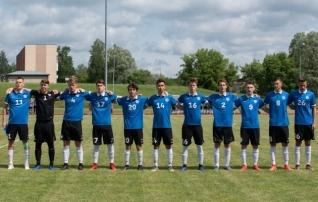 Valgevene ja Eesti noorte maavõistlus läks sarnaselt A-koondiste mänguga