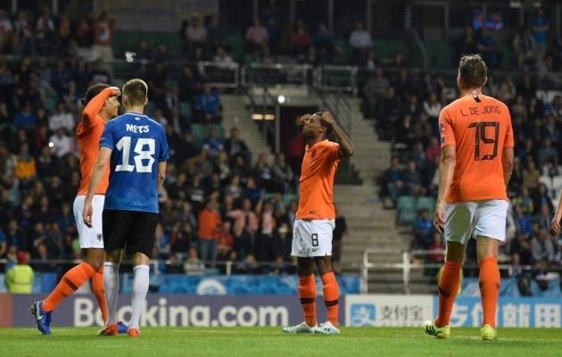 Holland oli Eestist üle. Foto: Liisi Troska