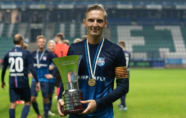 Paide Linnameeskond III kapten Carl Tubarik. Foto: Liisi Troska / jalgpall.ee