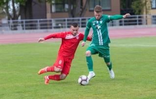 Tipphetked: Levadia U21 naasis Pärnust suure võiduga