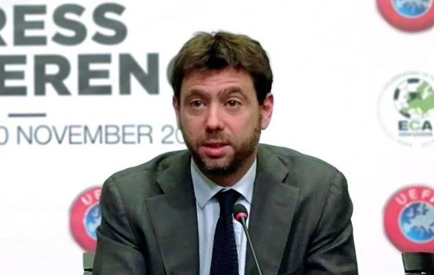 Juventuse ja ECA president Andrea Agnelli. Foto: UEFA koduleht