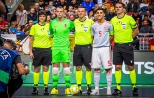 Ošomkov teenindas saalijalgpalli U19 EM-finaali