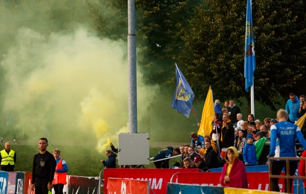 FC Kuressaare fännid. Foto: Oliver Tsupsman