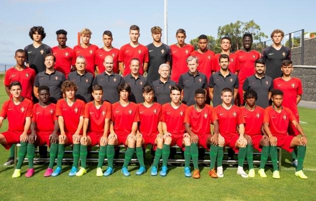 Portugali U17 koondis. Foto: jalgpall.ee
