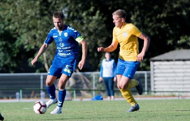 Sergei Mošnikov (vasakul). Foto: FK Palanga
