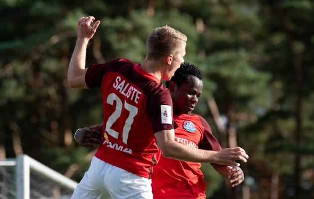 Puperdava südamega Narva läinud Saliste võitles omale Transis välja kolme klubi pakkumised