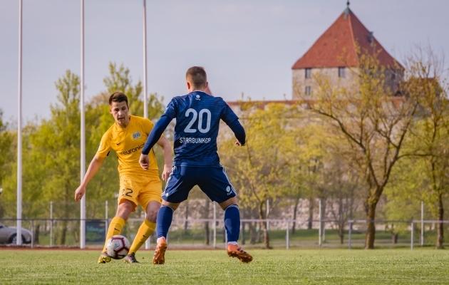 Kuressaare võõrustab hooaja üht olulisemat mängu. Foto: Allan Mehik