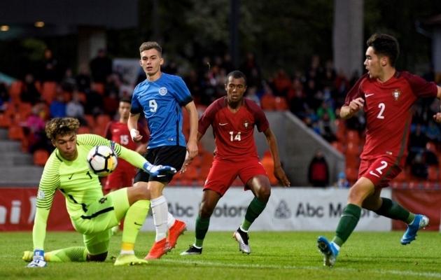 VAATA JÄRELE: sümpaatselt mänginud U17 koondisele sai Portugali vastu saatuslikuks avapoolaeg
