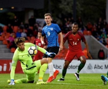 VAATA JÄRELE: sümpaatselt mänginud U17 koondisele sai Portugali vastu saatuslikuks avapoolaeg  (galerii!)