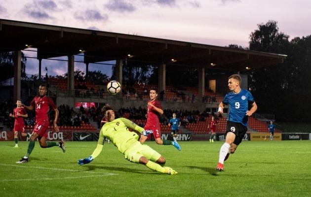Eesti noored pidid Sloveeniale kodusel turniiril alla vanduma