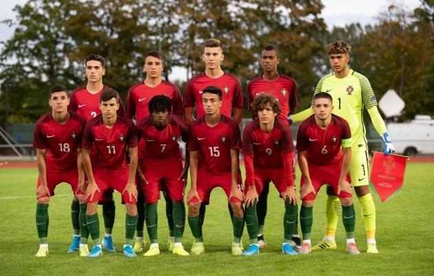 Portugali U17 koondis Eestis. Foto: Liisi Troska / Jalgpall.ee
