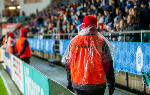Foto on illustratiivne, pildil olevad turvatöötajad ei ole artiklis kirjeldatuga seotud. Foto: Gertrud Alatare