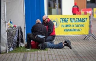 Meeskond turvafirma vastus Viljandis toimunud juhtumile: viharavi pole turvameeste töö