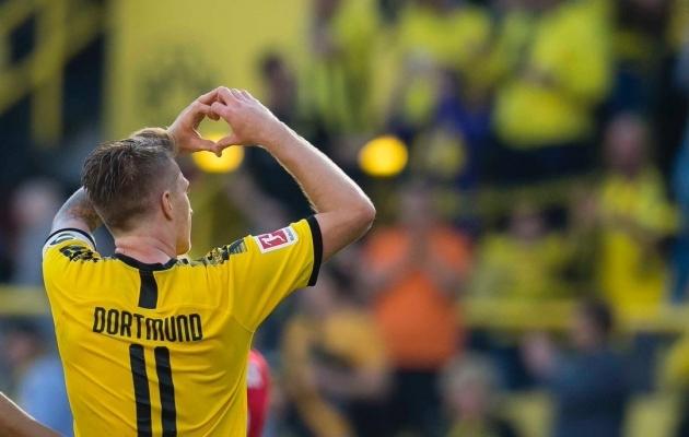 Dortmund armastab Reusi ja Reus Dortmundi. Foto: Dortmundi Twitter