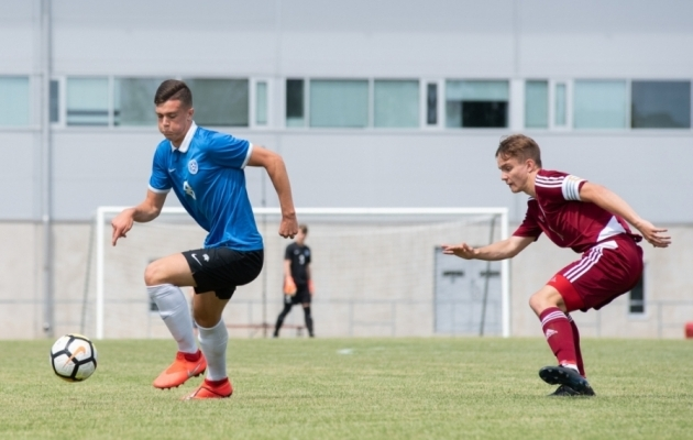 Seni on Tunjov esindanud Eestit U19 vanuseklassis. Foto: Liisi Troska