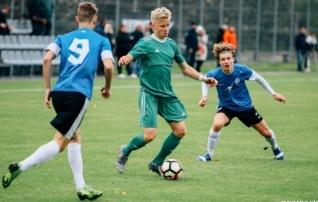 RB Leipzigi ja Chemnitzeri noorte väravad murdsid Eesti U16 meeskonna  (galerii)