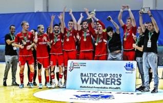 Narvas toimunud Baltic Futsal Cupi võitis FK Vytis, Eesti klubi tuli poodiumile
