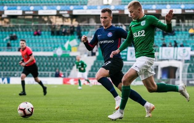 FC Flora kohtumine Narva Transi vastu. Foto: Brit Maria Tael