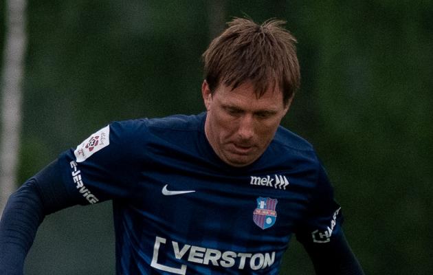 Paide Linnameeskonna ründaja Tarmo Neemelo. Foto: Liisi Troska / jalgpall.ee