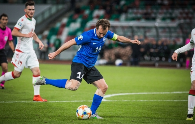 Vassiljev luhtas supervõimaluse. Foto: Jana Pipar / jalgpall.ee