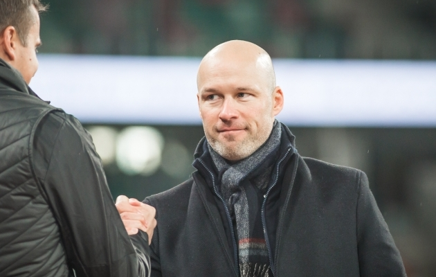 Eesti koondise peatreener Karel Voolaid. Foto: Jana Pipar / jalgpall.ee