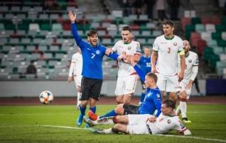 Video ja galerii   Vassiljev luhtas supervõimaluse, aga Eesti sai esimese punkti kätte