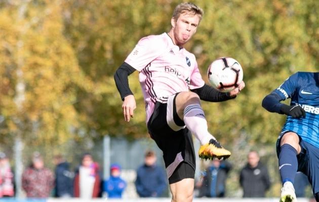 Robert Kirss. Foto: Liisi Troska / jalgpall.ee