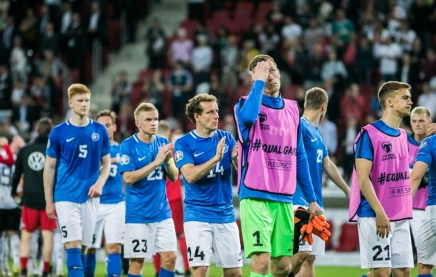 Mainzis kaotas Eesti koguni 0:8. Foto: Brit Maria Tael