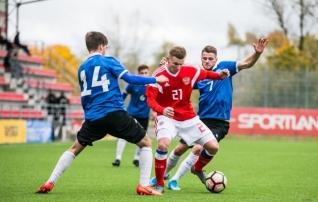 Video ja galerii | Keržakovi juhendatud Venemaa pani Eesti U19 koondise esimeses mängus paika