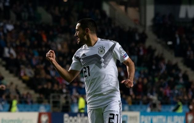 Saksamaa 2:0 värava löönud Ilkay Gündogan. Foto: Liisi Troska