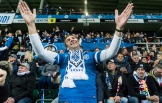 Eesti meeste jalgpallikoondis püstitas publikurekordid
