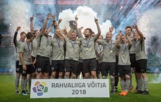 Rahvaliiga finaalis on seekord kasutusel suluseis  (otsepilt Soccernet.ee-s)