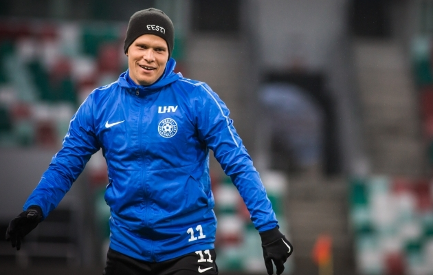 Henrik Ojamaa. Foto: Jana Pipar / jalgpall.ee