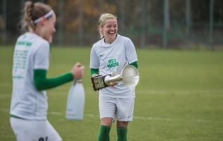 Soccernet.ee video | Sahmaka šampanjat krae vahele saanud Katrin Loo: tiitel on järjepideva töö tulem