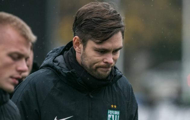 FC Flora peatreener Jürgen Henn. Foto: Brit Maria Tael