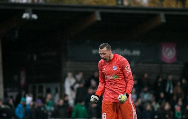 Soccernet.ee valiku vanim vanameister on 39-aastane väravavaht Pavel Londak. Foto: Brit Maria Tael