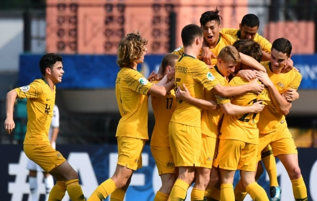 Austraalial on 20 aasta tagant üks võlg õiendada. Foto: socceroos.com.au