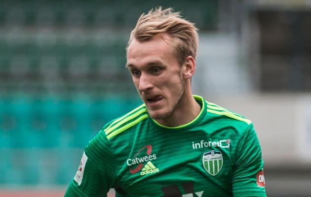 FCI Levadia poolkaitsja Mark Oliver Roosnupp. Foto: Jana Pipar / jalgpall.ee