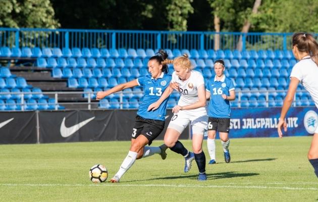 Viimati mängisid Eesti ja Valgevene omavahel sel suvel Kadriorus. Foto: Liisi Troska