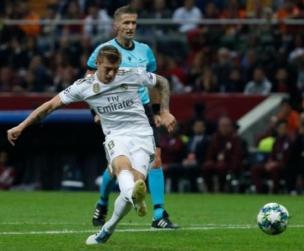 Surve all Real Madrid võttis napika võidu Galatasaray üle