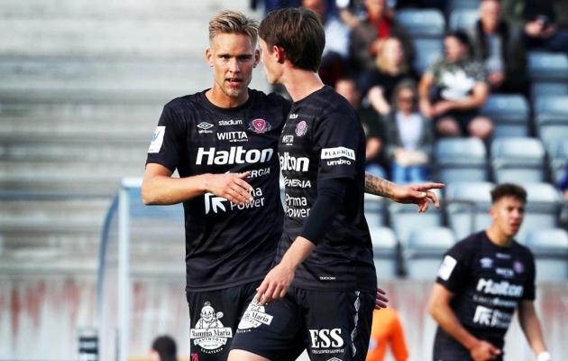 Brent Lepistu (vasakul). Foto: FC Lahti