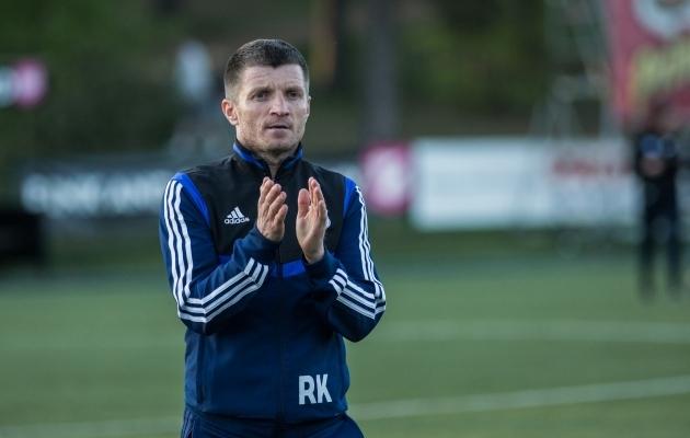 Roman Kožuhhovski. Foto: Jana Pipar / jalgpall.ee