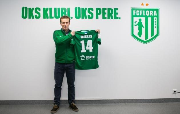 FC Flora teatas 27. veebruaril, et on sõlminud lepingu Konstantin Vassiljeviga. Foto: Brit Maria Tael