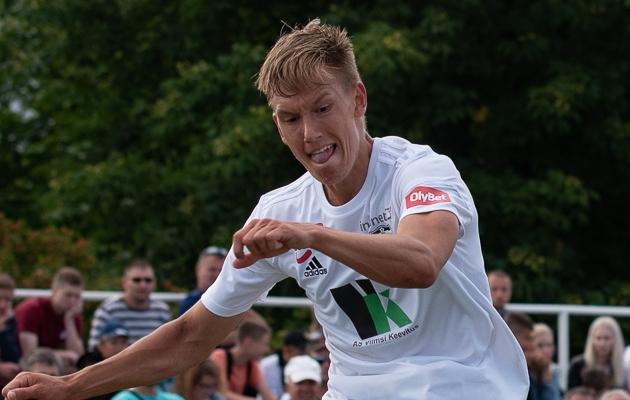 FCI Levadia poolkaitsja Rasmus Peetson. Foto: Liisi Troska / jalgpall.ee